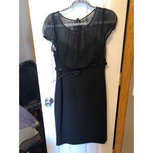 Black Calvin Klein Mini/Midi Dress